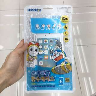 🇰🇷(包郵) Doraemon Waterproof Multicase 多啦A夢防水保護袋