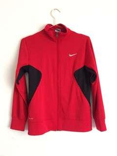 Oversized Nike Red Dri Fit Jacket