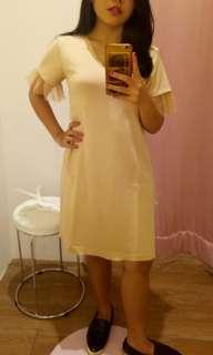 Casual Nude Dress