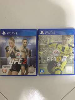 Fifa 17 & UFC2