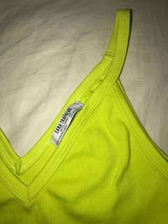 Lime Green Top