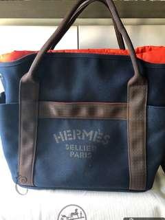 全新Hermes canvas袋