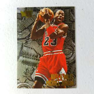 1995-96 Fleer Metal Nuts & Bolts Michael Jordan #212