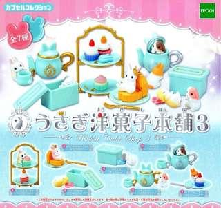 兔子洋菓子本舖3扭蛋【單售2號】