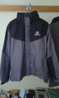 Jaket salomon waterproof,jaket outdoor