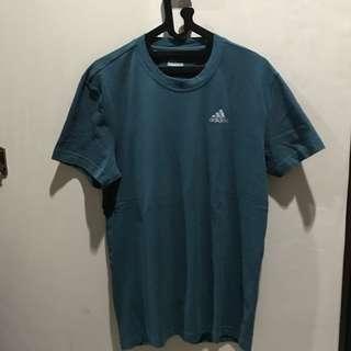 Adidas climacool aeroknit hijau tua tshirt kaos olahraga