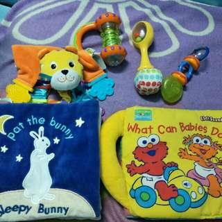 Preloved baby toys