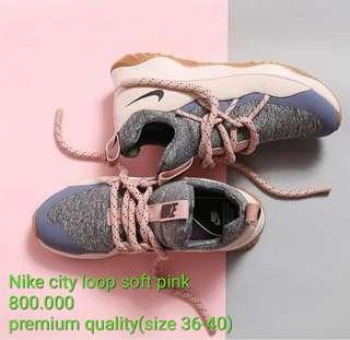 Nike city loop soft pink