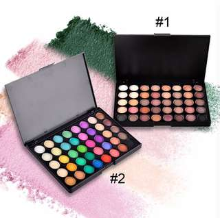 🚚 💄💋 Popfeel 40 Colours Mini Eyeshadow Palette Great for travel. Super pigmented