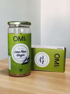 OMI Lime Plum Bentong Ginger Powder 400g Clear Stock Promotion