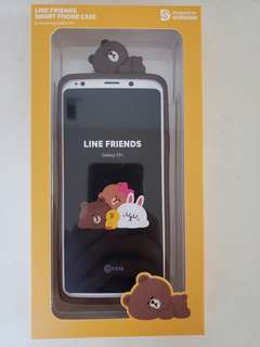 Line Friends S9+ back cover