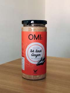 OMI Teh Tarik Bentong Ginger Powder 400g Clear Stock Promotion