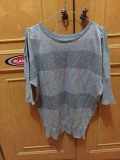 knit grey