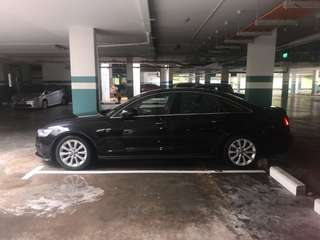Wedding car Audi A 6 for rent