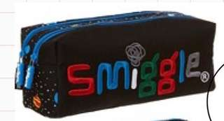 [Clear my collection] SMIGGLE twin zip pencil case