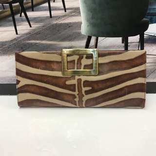 Roger Vivier Leather Clutch