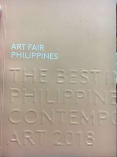 Art Fair Philippines 2018 Book