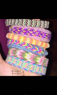 Loom bands (10 pieces for 150)