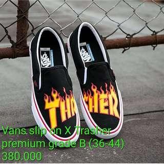 Vans slip on X Trasher