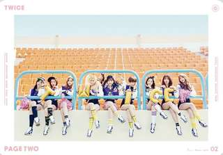 (WTB) Twice Page Two pink version poster (ROLLED)