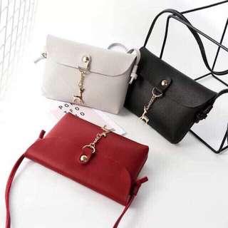 Korean Plain Simple Fashion Sling Bag