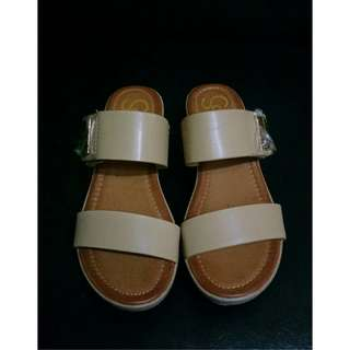 SO FAB Wedge Sandal  ▪ size : 37  ▪  never used and good as new ▪