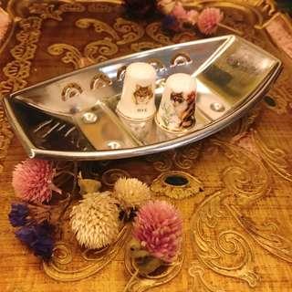 日本 早期收藏 全新庫存 小鐵盤 / 置物盤 / 收納盤