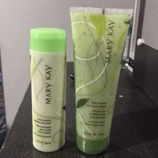MARY KAY Lotus & Bamboo LOTION & BODY CLEANSER