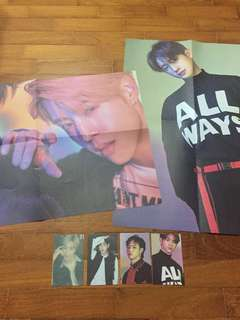 [WTS] GOT7 EYES ON YOU PHOTOCARDS POSTERS