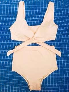 Old Rose 2-piece Swimwear