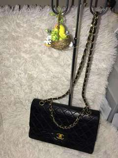 Authentic Chanel Black Flap