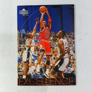 1997-98 Upper Deck Michael Jordan EXCELLENCE #165