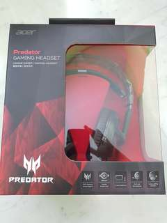 Acer predator Gaming Headset (PHW510) BNIB