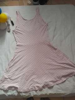 F21 Pastel Lowback Dress