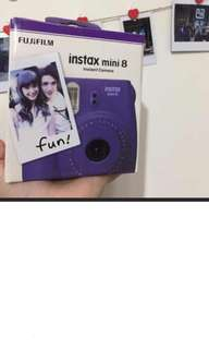 mini 8 紫色拍立得