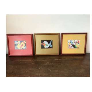 Drawing frames - Arts from Mauritius Island