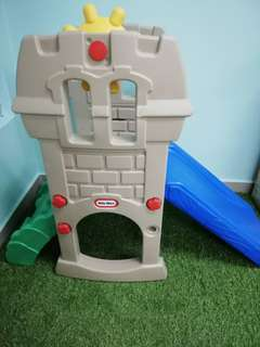 Little tikes Castle Slide