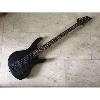 Grover Jackson PJ Japan Market Electric Bass Guitar Matt Black Precision Jazz Cheap Rare Discontinued