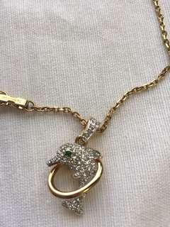 Swarovski Necklace 2Pcs