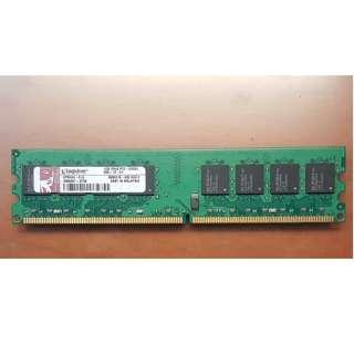 1GB Kingston Ram DDR2 667MHz