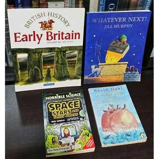 Set of 4 Children's Books -- all for P280.00