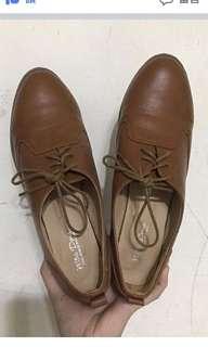 🚚 41號咖啡綁帶跟鞋