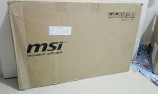 Laptop Gaming MSi GS73VR 7RF Stealth i7 GTX. NEW & ORIGINAL !!!