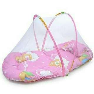 Coral Babies Foldable Mosquito Net Bed