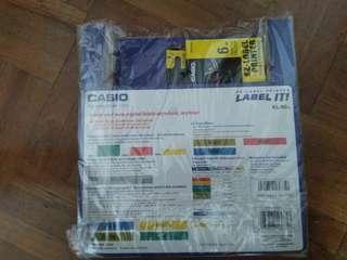 Casio label ez-printer