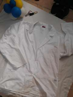 Dickies White Coat