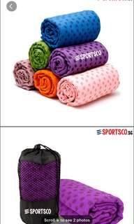 Yoga Towel Pink and purle