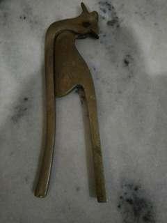 Kacip pinang tembaga antik G