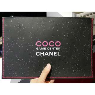 全新 全場最平 限量Coco Chanel Game Center Clutch Limited Edition  Pouch  VIP  barg louis lv gucci