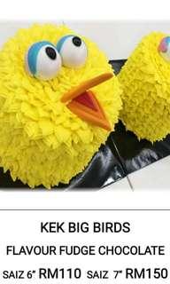 Big bird cake (choco fudge)